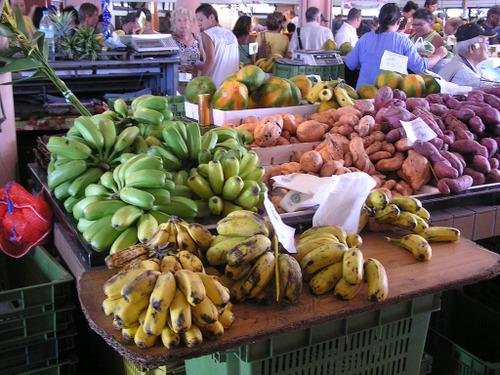 Le Marché - plantains