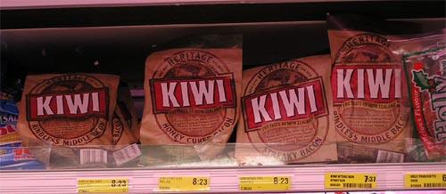 Kiwi bacon