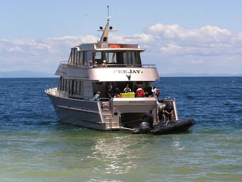 Pee Jay Tours boat