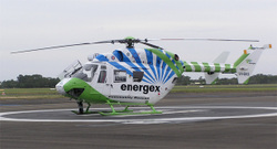 Bundaberg's Energex rescue chopper