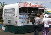 The Hat Russian Food caravan